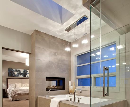 Badkamer in slaapkamer voorbeelden - Interieur Insider