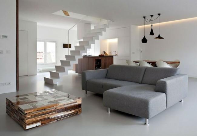 Woonkamer Met Openhaard Inrichten : inrichting woonkamer modern bij ...