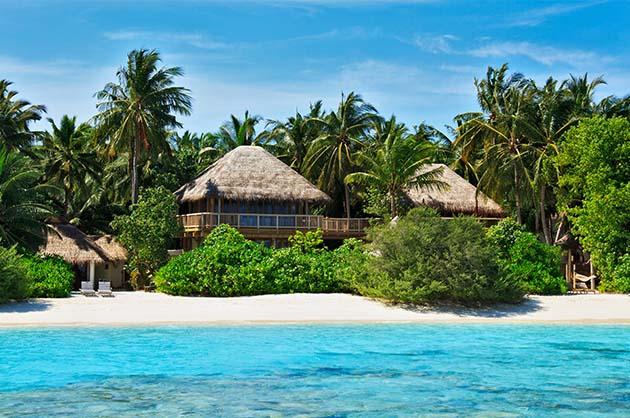 Jungle Slaapkamer Maken : Soneva Fushi Maldives