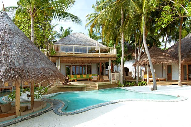 Soneva Fushi Jungle Reserve in de Maladiven