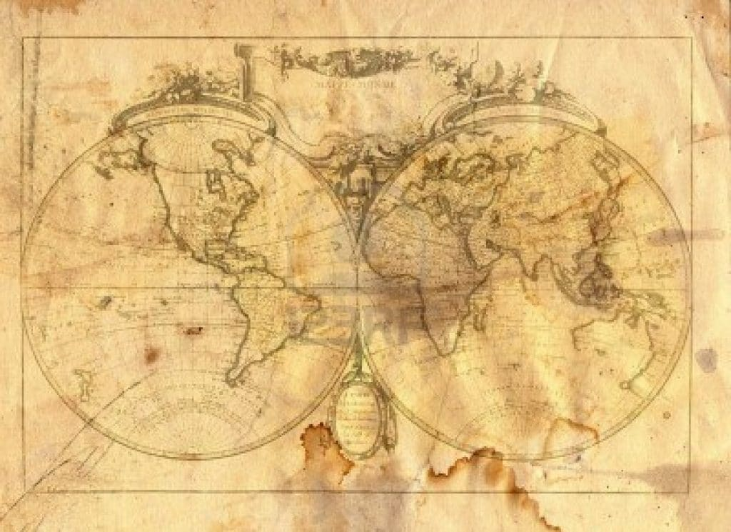 Related Pictures world map vintage style plakat