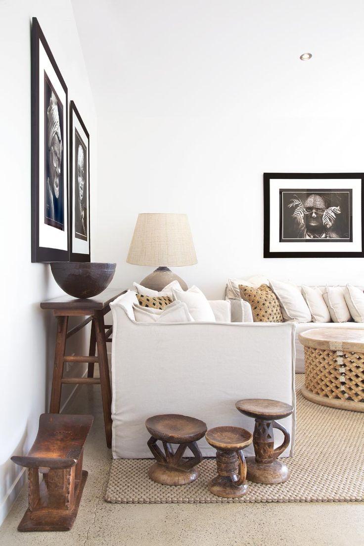Etnische inrichting een interieur met wereldse invloeden - Deco salon warme kleur ...