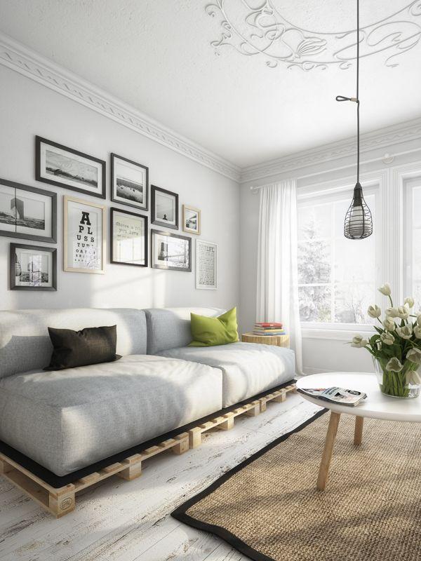 Een Loungebank Maken Met Pallets Interieur Insider