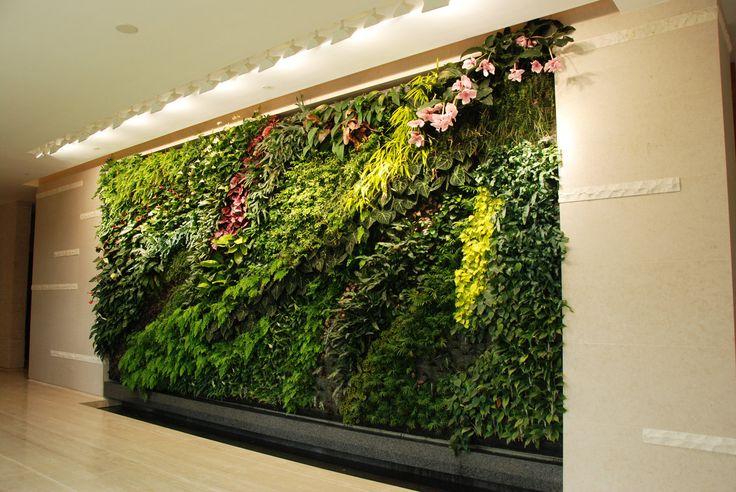 Verticale Tuin Woonkamer : Verticale tuin binnen u2014 interiorinsider.nl