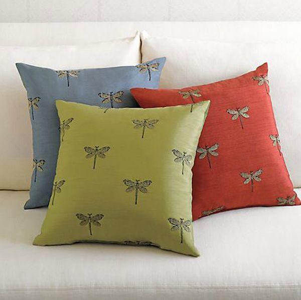 Dragonflies-pillows