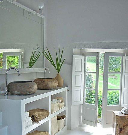 Badkamer ideeen archieven interieur insider - Muebles rusticos en blanco ...