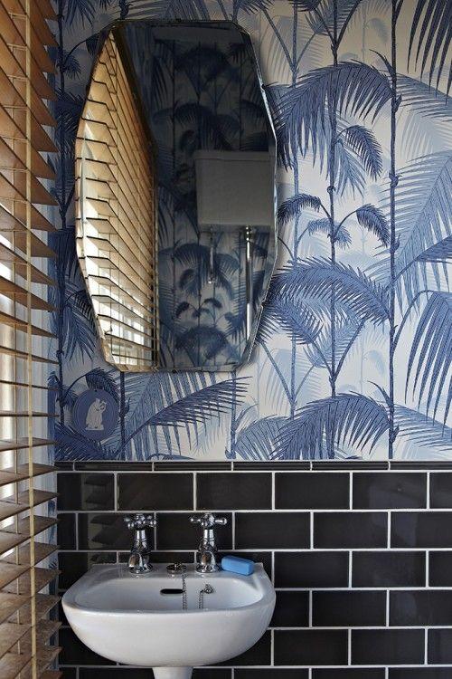 Behangen badkamer