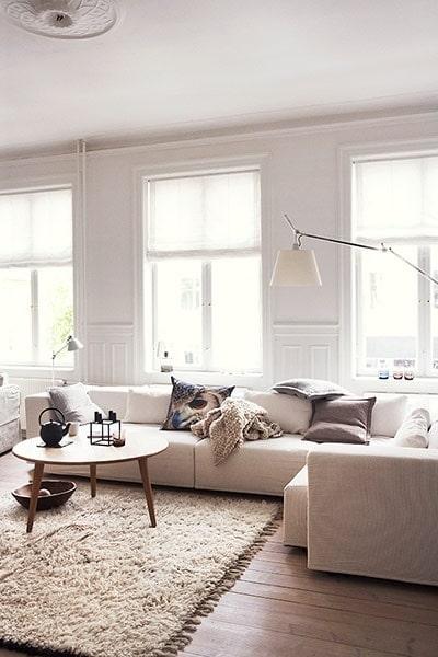 Beige woonkamer - Interieur Insider