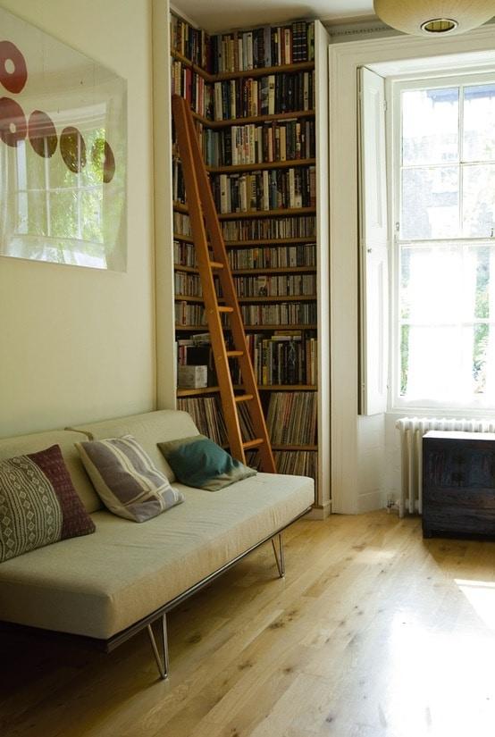 Creatief boeken opbergen - Idee bibliotheek ...