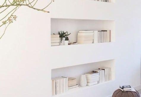 Inbouw boekenkast