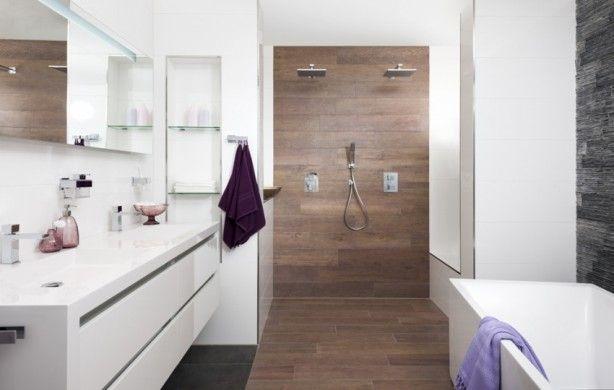 Dubbele douche for Tekening badkamer maken