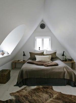 van zolder tot slaapkamer