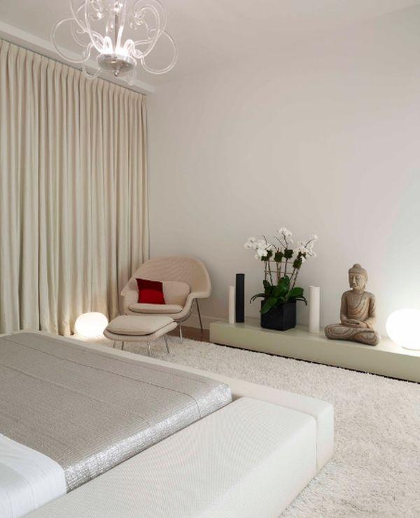 Slaapkamer Inrichten Zen : Zen slaapkamer interieur insider