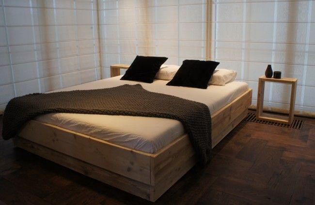Zelf een bed maken van steigerhout interieur insider for Bed van steigerhout maken