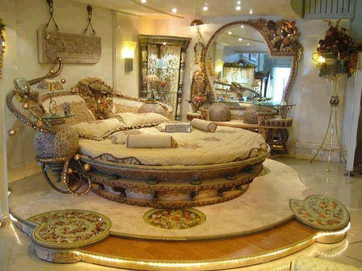 Slaapkamer Rond Bed : Beautiful Bed Room