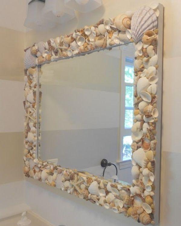 Strandsfeer interieur interieur insider - Como decorar un espejo ...