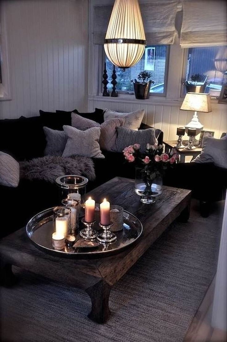 Donkere Keuken Lichter Maken : How to Make a Small Living Room Look Larger