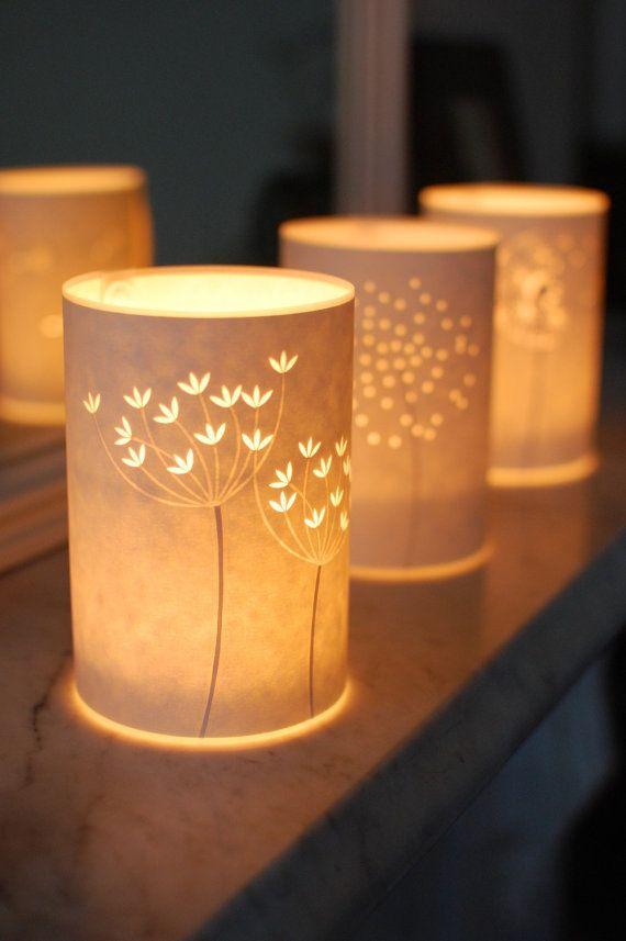 Donkere Keuken Lichter Maken : Set of Three Seed Head Candle Lights
