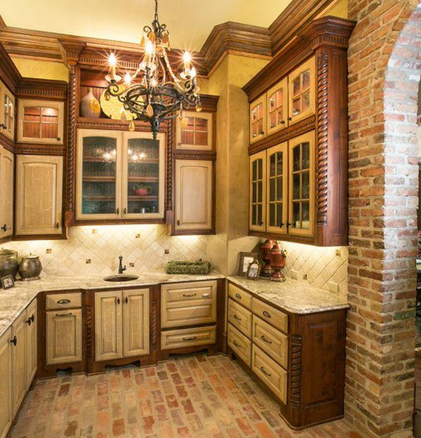 Brick Flooring Kitchen: Interieur Insider