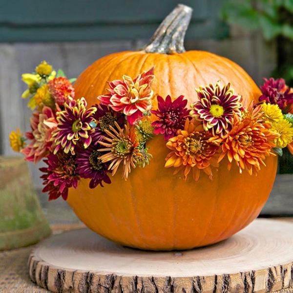 flowered-pumpkin