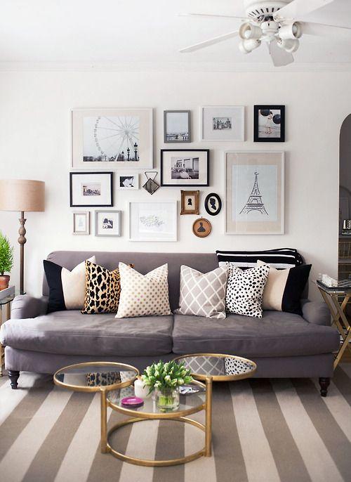 Foto collage muur   Interieur Insider