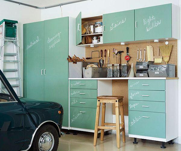 Berging inrichten tips inspiratie 2018 for Muebles para garage