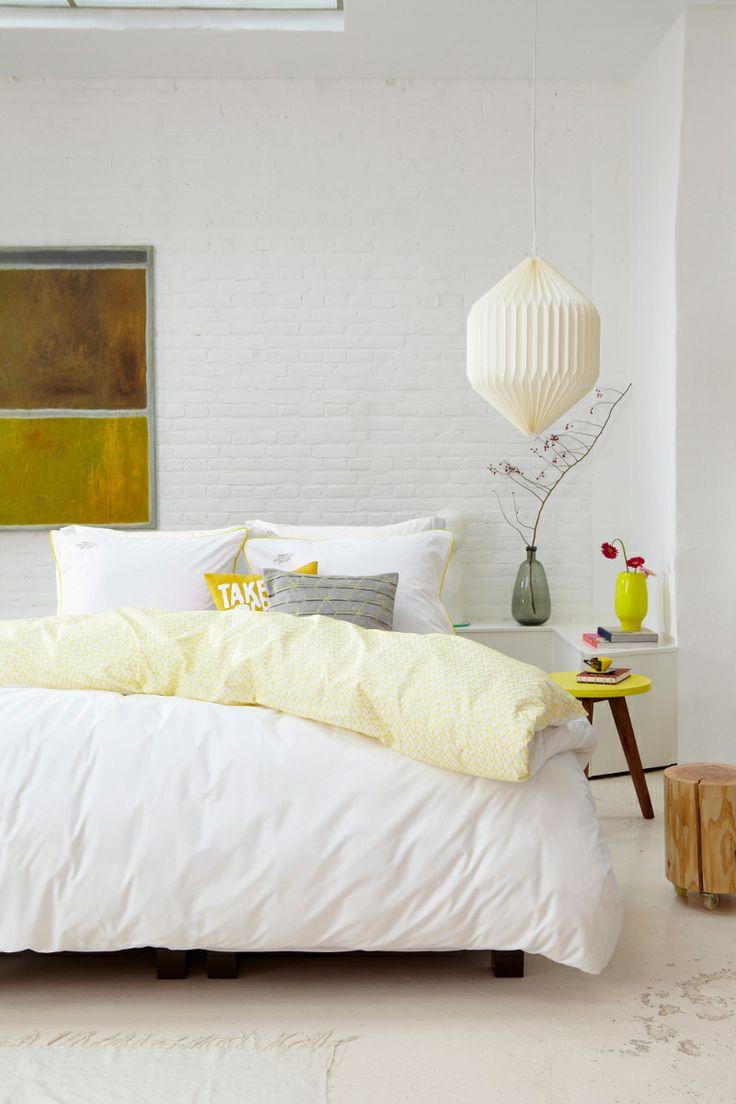 Gele slaapkamer - Interieur Insider