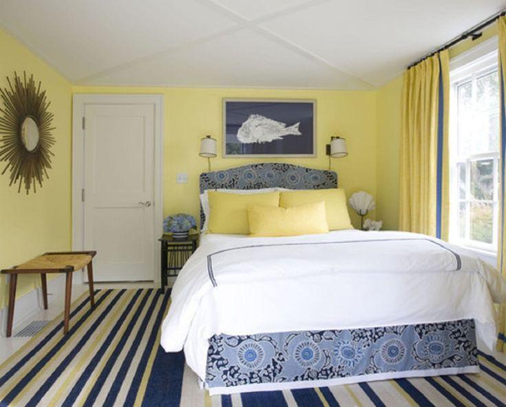 Gele slaapkamer u interiorinsider