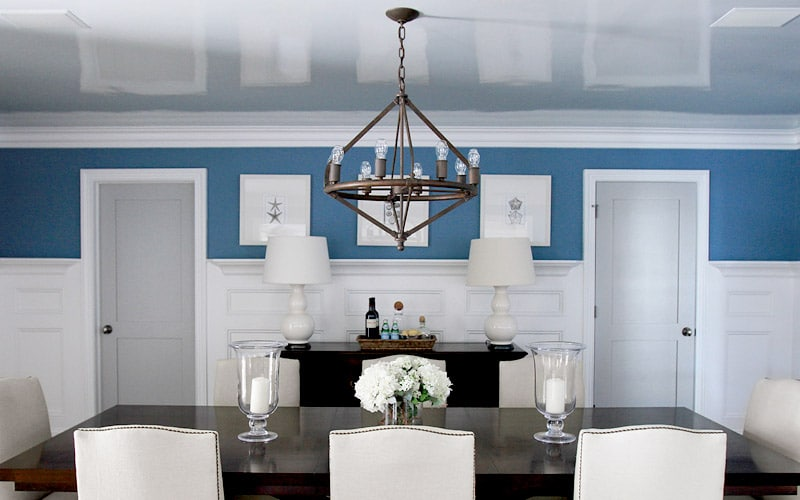 glosy-paint-if-you-have-low-ceiling