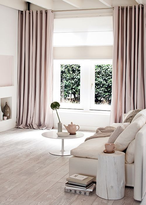 Tips Raambekleding Keuken : Curtain Soft Pink Blush