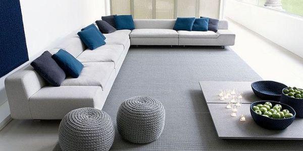 Slaapkamer Rustgevend : Grijs en blauw: compleet relaxt en rustgevend ...