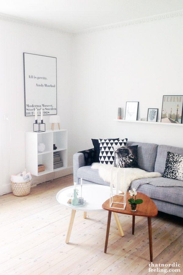 Scandinavische inrichting inspiratie voor een leefbare kamer - Hoe je een eigentijdse inrichting van ...