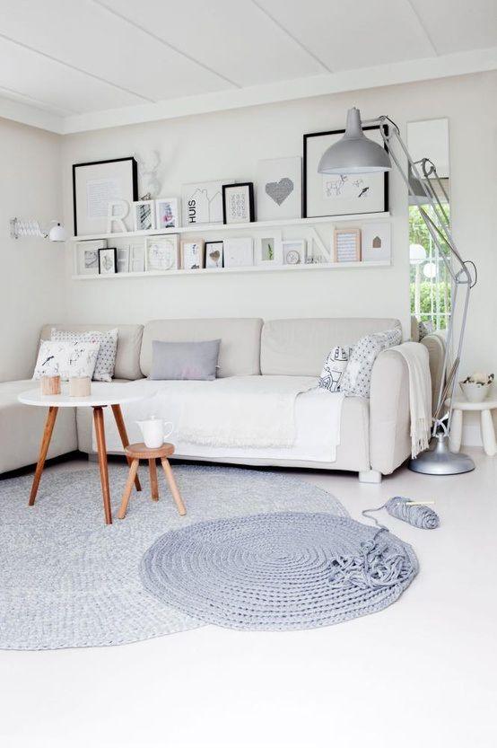 lichte scandinavische kamer