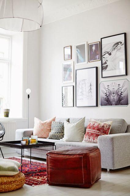 Boho Style In The Interior Luxury Woonkamer Inrichten Voorbeelden Interieur Insider