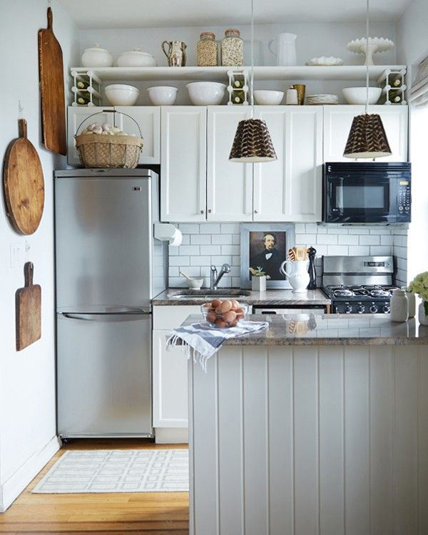 Keuken Inspiratie Pinterest : Small above Kitchen Cabinets