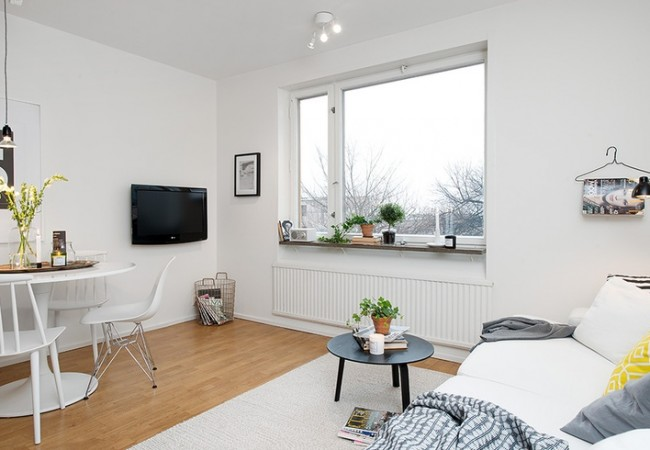 Kleine kamer inrichten archieven interieur insider - Een kleine rechthoekige woonkamer geven ...