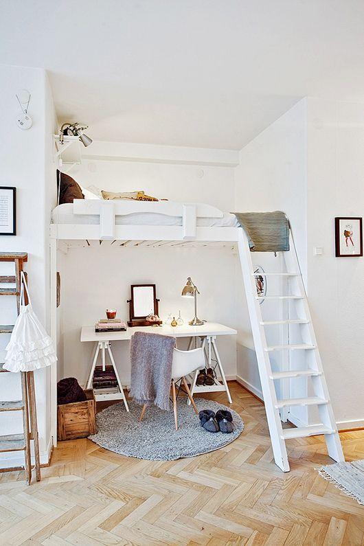 kleine slaapkamer inrichten - interieur insider, Deco ideeën