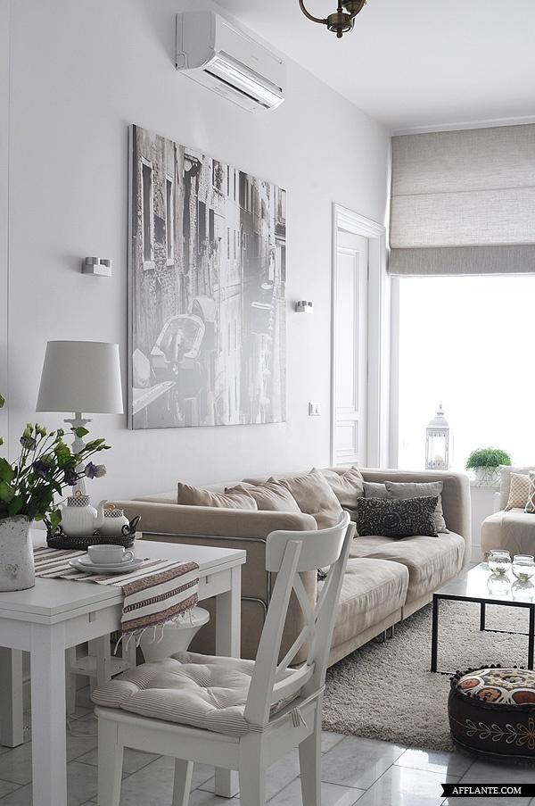 Tips om een kleine woon kamer leuk in te richten - Deco klein appartement ...