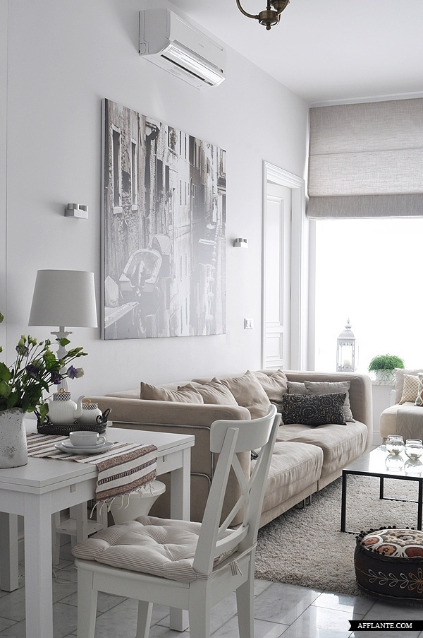 Tips om een kleine woon kamer leuk in te richten - Deco grote woonkamer ...