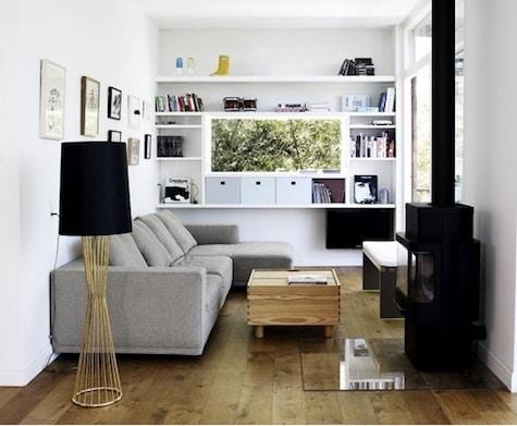 Kleine woonkamer inrichten for Huis laten inrichten
