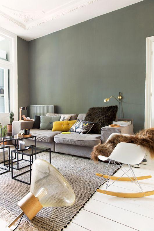 woonkamer muur verven - interieur insider, Deco ideeën