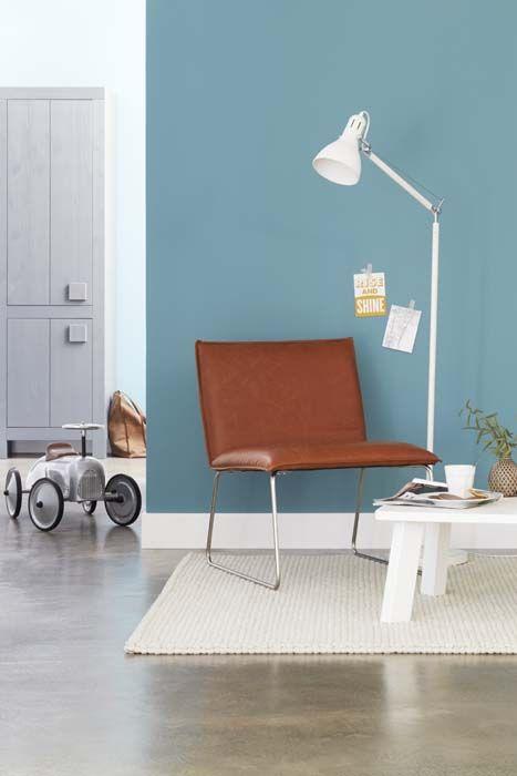 Inrichting bruin woonkamer for Interieur kleuren woonkamer