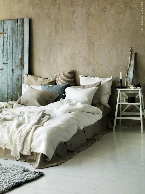 Decoratie slaapkamer interieur insider - Decoratie bed ...