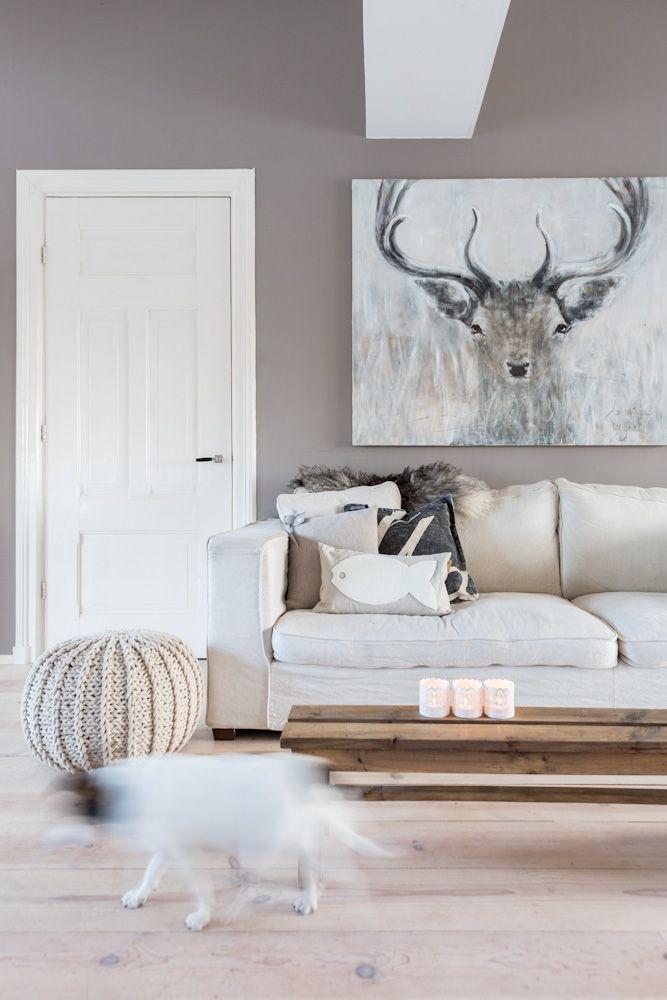 Landelijke stijl woonkamer — InteriorInsider.nl