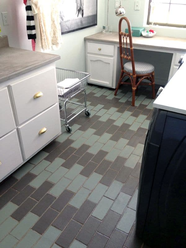 laundry-room-painted-tiles