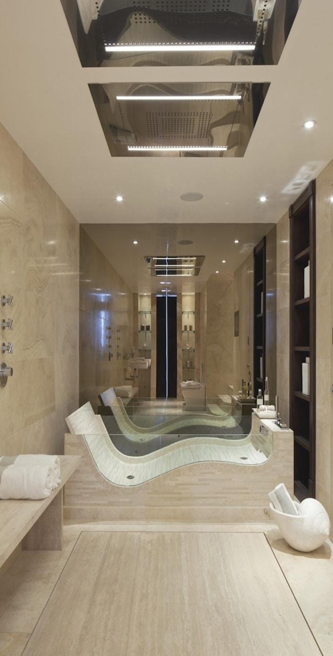 Luxe badkamer voorbeelden   interieur insider