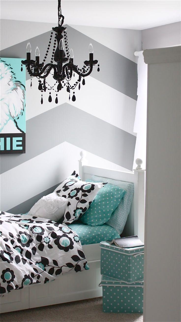 Meisjes slaapkamer - Slaapkamer van een meisje ...