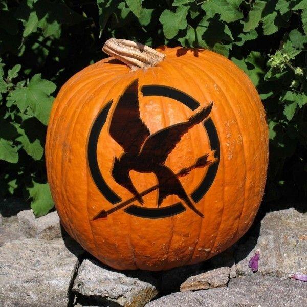 mockingjay-bird-pumpkin