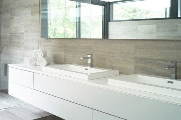 Moderne badkamers voorbeelden interieur insider for Interieur voorbeelden