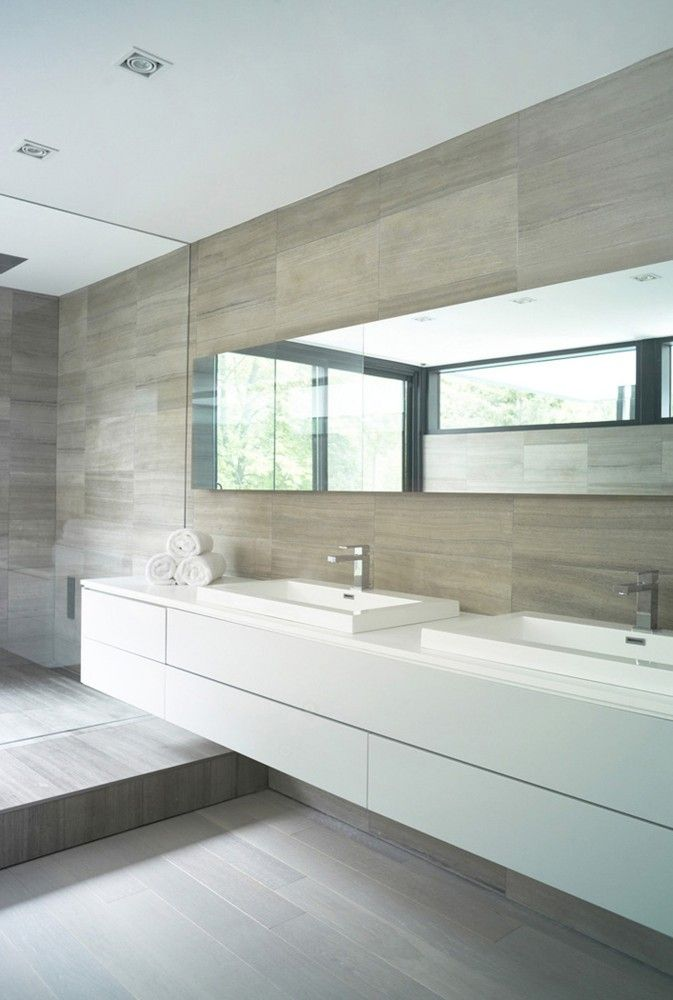 Moderne badkamers voorbeelden interieur insider - Moderne design badkamer ...